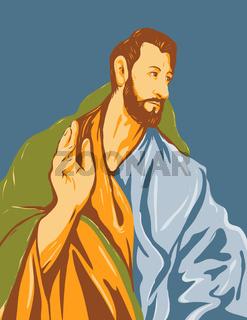 Artwork of El Greco Domenikos Theotokopoulos Entitled Saint Thomas the Apostle circa 1608 WPA Poster Art