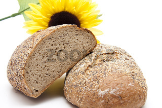 Brot vor Sonnenblume