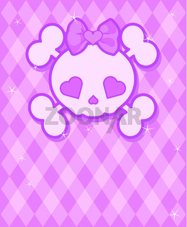 Cute Skull background