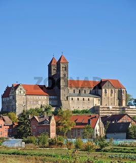 das Schloss von Quedlinburg