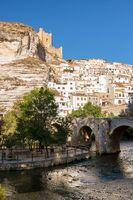 Alcala del Jucar medieval village in Albacete province Spain.