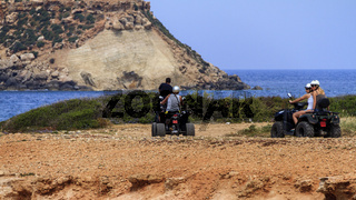 Quad Bikes Agios Georgios Cyprus