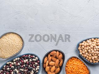 Vegan protein concept
