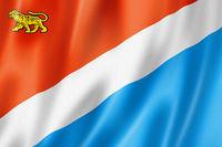 Primorsky state - Krai -  flag, Russia