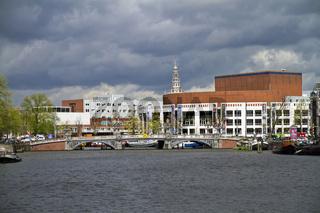 Stadthaus und Oper Amsterdam, Niederlande, Europa