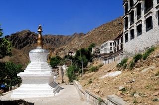 Stupa im Kloster Drepung  Lhasa Tibet China