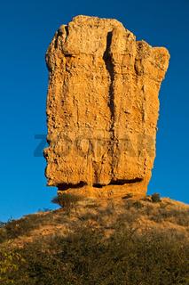 Fingerklippe in Namibia