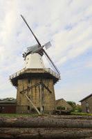 The historical Windmill in Kappeln, Schleswig-Holstein, Germany, Europe