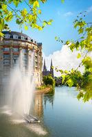 Fountain in strasbourg
