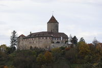 The Castle Reichenberg in Oppenweiler in Germany, Europe