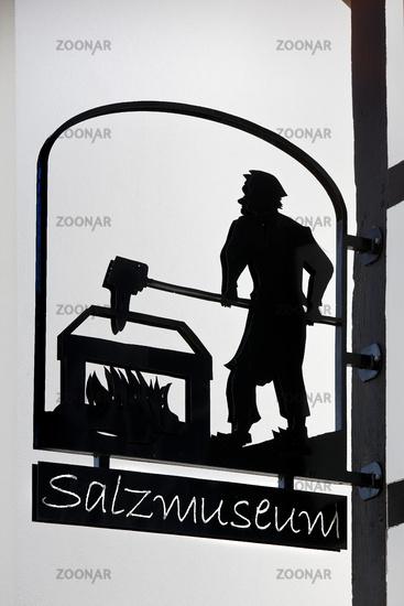 Salt museum, for the history of salt, Salzkotten, East Westphalia-Lippe, Germany, Europe