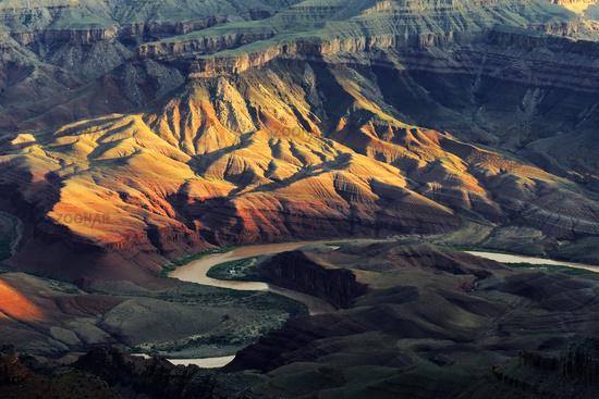 Sonnenaufgang Lipan Point, Colorado River, Grand Canyon South Ri