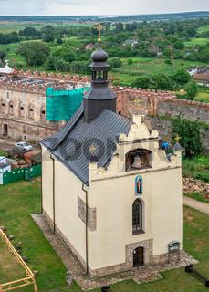 St. Nicholas church in Medzhybish fortress, Ukraine