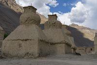 Mud Monastery, Tado Monastery, Spiti Valley, Himachal Pradesh, India