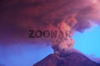Merapi Eruption