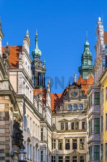 Dresden castle, Germany
