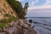 The Baltic Sea coast near Gager, Mecklenburg-Western Pomerania, Germany