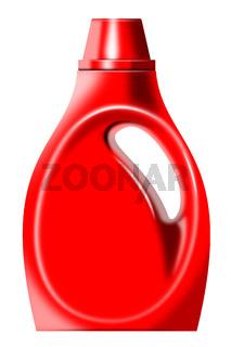 Laundry Bottle Isolated