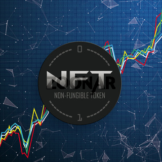 Chart NFT Data Network Connected Dots