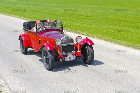 oldtimer car Alfa Romeo