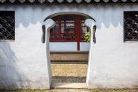 Odd in shape doorway