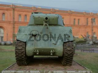 American tank Sherman fought in World War II