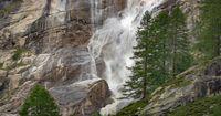 Waterfall in the Italian Alps