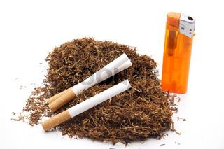 Zigaretten und Stopftabak