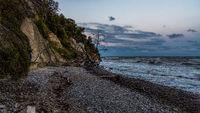 The Baltic Sea coast in Sassnitz, Germany