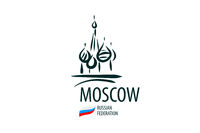 Vector Russia sign drawn by hand on a white background