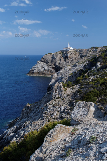 Far de Capdepera at Mallorca