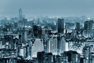 Urban scenery in night