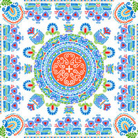 Hungarian embroidery pattern 113