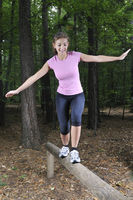 fitness in a forest