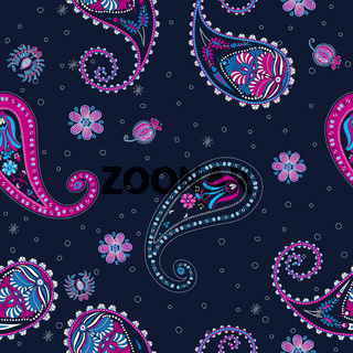 Floral paisley pattern 2