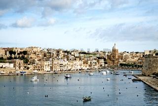 view valetta old town in malta