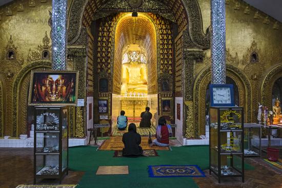 Yadana Man Aung Pagoda, Nyaung Shwe, Myanmar