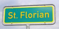 St Florian place-name sign