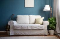 Classical design interior with sofa