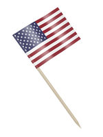 American flag toothpick