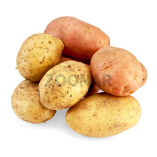 Potato pink and yellow