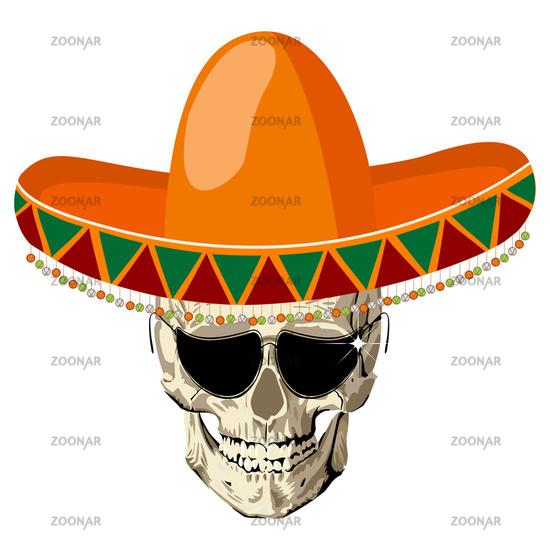 Sombrero skull