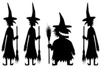 Witch Silhouette, Fat One
