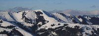 Hundsruegg, mountain range near Zweisimmen.