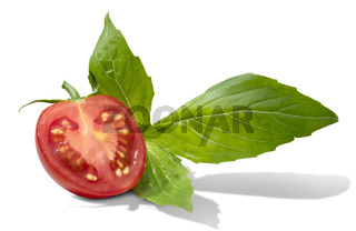 Tomato and basil.