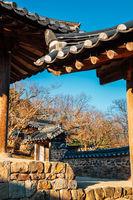 Byeongsan Seowon Historic Site in Andong, Korea