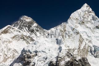Mt. Everest seen from the top of Kala Patthar peak
