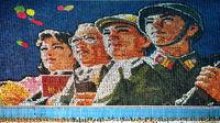Card Stunt at North Korean Mass Games