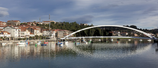 Bridge of Plentzia, Bizkaia, Spain