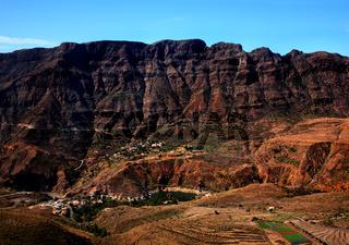 See La Sorrueda in der Nähe von Santa Lucia, Gran Canaria, die Kanarischen Inseln, Spanien